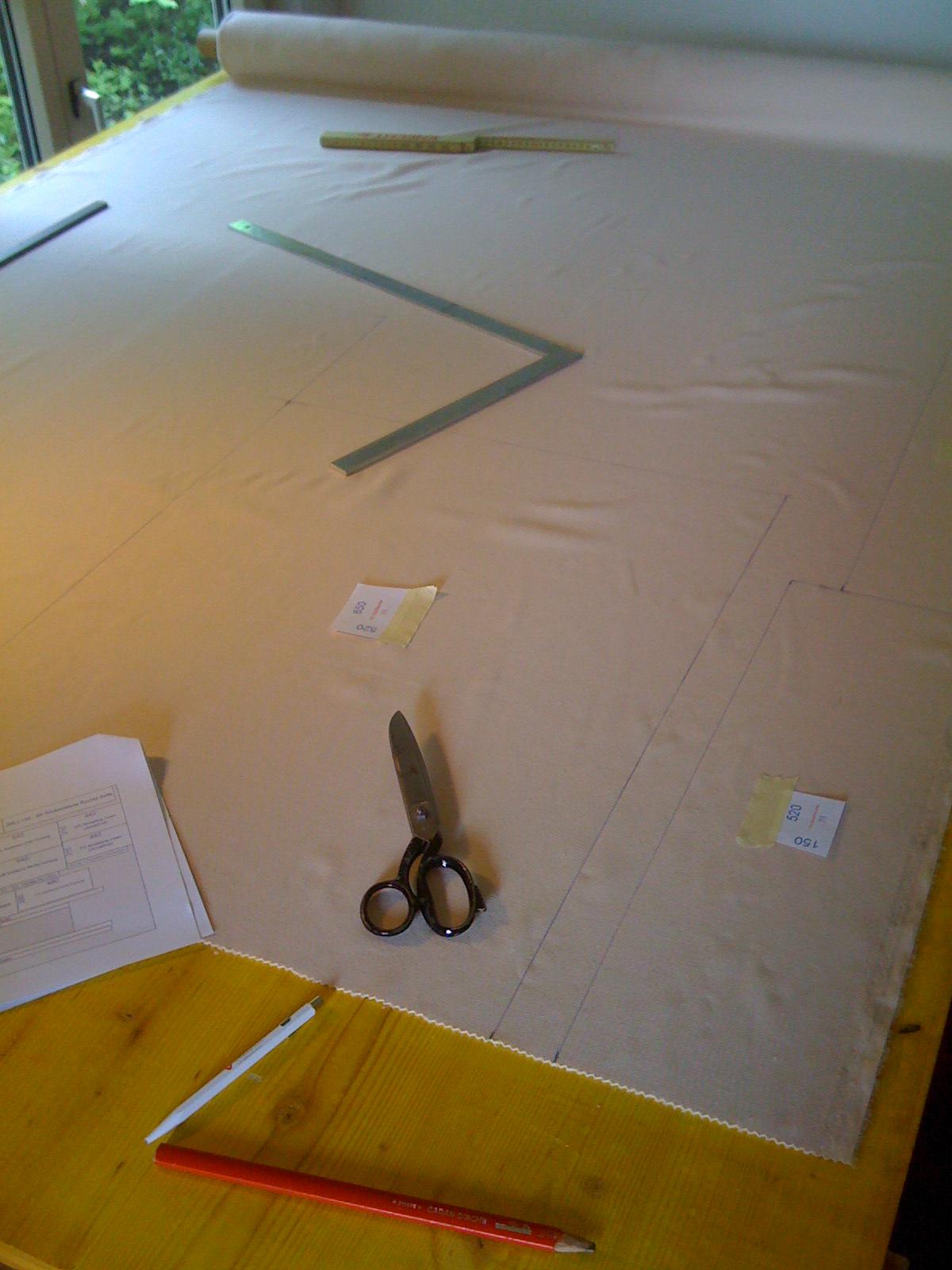 HellerStoffzuschneiden0077 – Projekt Chevy Van G30